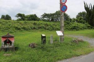 篠山城の南馬出跡