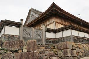 篠山城の大書院