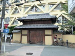 茨木城楼門