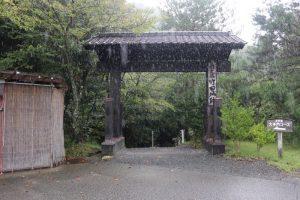 竹田城の城門