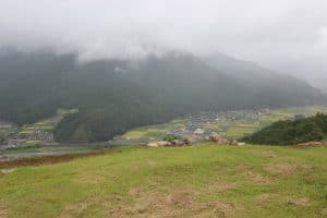 竹田城からの展望