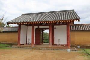 秋田城の東門