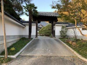 土浦城の奥御殿赤門