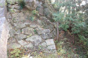 笠間城の石垣