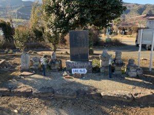 大井信達の墓