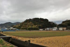 紀伊・入山城(本丸)