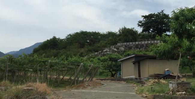 甲斐・小山城