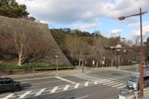 和歌山城の駐車場