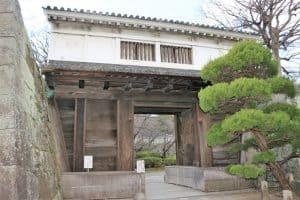 和歌山城・岡口門