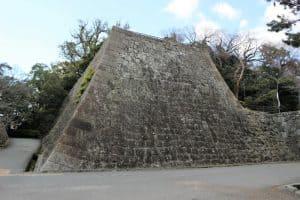 和歌山城の櫓台