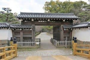 和歌山城・一の橋大手門