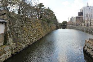 和歌山城の水堀