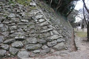 和歌山城の石垣