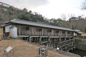 和歌山城の御橋廊下
