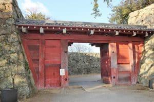 和歌山城・追廻門