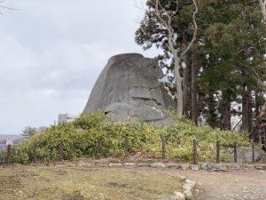 盛岡城・烏帽子岩