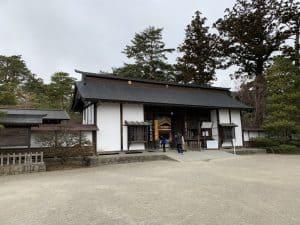 一関城の大手門