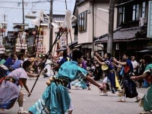 正院キリコ祭り