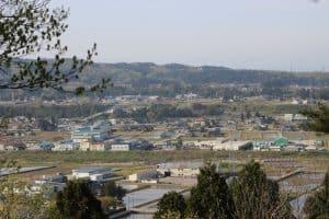 越中・天神山城からの展望