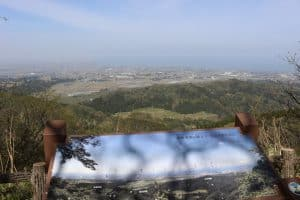 越中・松倉城からの展望