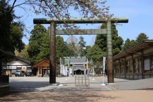 越中國一之宮 射水神社