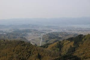 越中・守山城からの展望