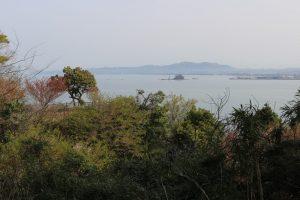 阿尾城からの展望