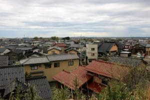 津幡城からの展望