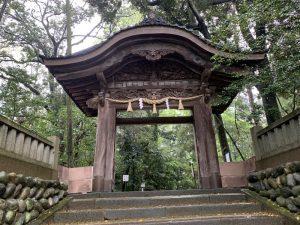 金沢城の二の丸御殿唐門