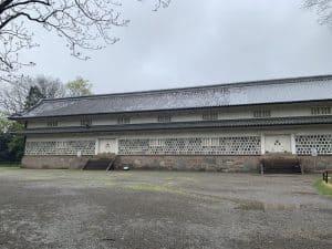 金沢城の三十間長屋