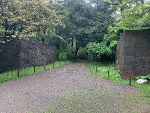 金沢城の本丸入口