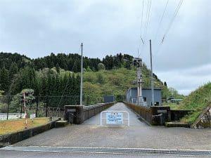 増山城と和田ダム