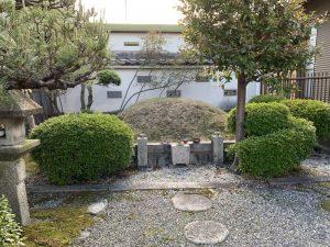 坂本城の明智塚