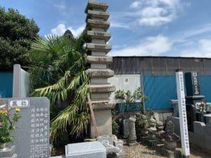 小栗満重と家臣の供養塔