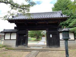 下館城の移築門