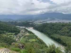 苗木城からの展望