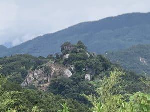 苗木城の遠景