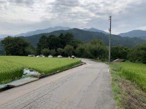 荻町城の無料駐車場
