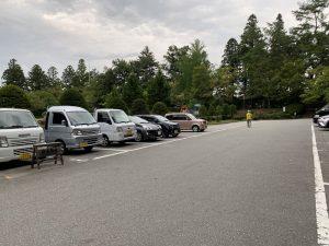 飛騨・高山城の駐車箱