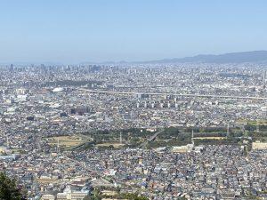 河内・飯盛山城からの展望