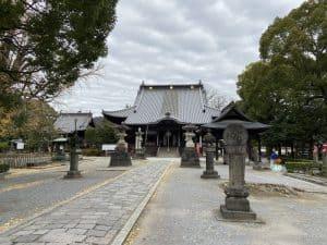 鑁阿寺の本堂