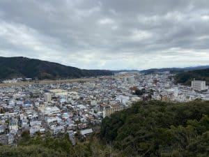 土佐・中村城からの展望