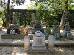 形原松平家墓所