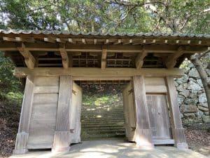津和野藩武家屋敷の移築門