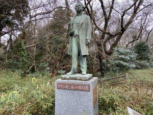 タウンゼント・ハリスの銅像