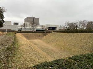 佐倉城・馬出し空堀