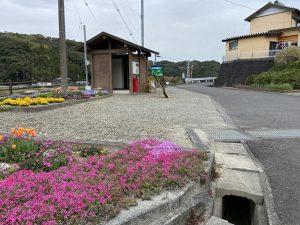 勝間田城の登城口