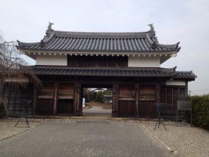 二の丸鍮石門