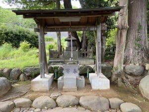 源範頼の墓(修善寺)