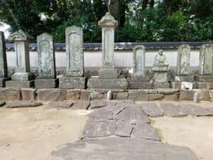 西郡松平家墓所